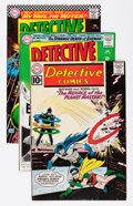 Silver Age (1956-1969):Superhero, Detective Comics #296, 347, and 348 Group (DC, 1961-66) Condition: Average FN/VF.... (Total: 3 Comic Books)