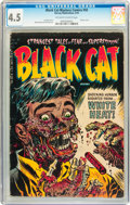 Golden Age (1938-1955):Horror, Black Cat Mystery #50 (Harvey, 1954) CGC VG+ 4.5 Off-white to whitepages....
