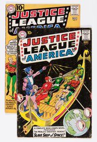 Justice League of America #3 and 7 Group (DC, 1961) Condition: Average VG-.... (Total: 2 Comic Books)