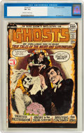 Bronze Age (1970-1979):Horror, Ghosts #1 (DC, 1971) CGC VF+ 8.5 Off-white to white pages....