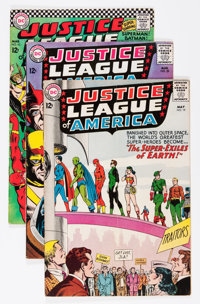 Justice League of America Group (DC, 1963-66) Condition: Average VG+.... (Total: 6 Comic Books)