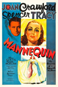 "Movie Posters:Drama, Mannequin (MGM, 1937). One Sheet (27"" X 41"") Style C.. ..."