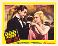 "Movie Posters:Hitchcock, Secret Agent (Gaumont, 1936). Lobby Card (11"" X 14"").. ..."