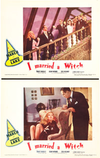 """I Married a Witch (United Artists, 1942). Lobby Cards (2) (11"""" X 14""""). ... (Total: 2 Items)"""