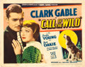 """Movie Posters:Adventure, The Call of the Wild (United Artists, 1935). Title Lobby Card (11""""X 14"""").. ..."""