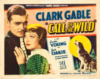 """The Call of the Wild (United Artists, 1935). Title Lobby Card (11"""" X 14"""")"""