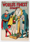 Golden Age (1938-1955):Superhero, World's Finest Comics #20 (DC, 1945) Condition: FN....
