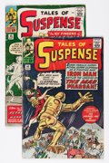 Silver Age (1956-1969):Superhero, Tales of Suspense #44 and 45 Group (Marvel, 1963) Condition: Average GD+....
