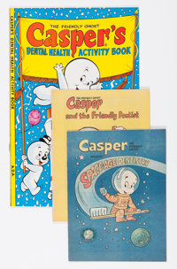 Casper the Friendly Ghost American Dental Association Giveaways File Copy Group (Harvey, 1972-81) Condition: Average NM-...