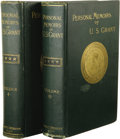 Books:Non-fiction, U[lysses]. S. Grant: Personal Memoirs of U.S. Grant. In Two Volumes. (New York: Charles L. Webster & Company, 1885, 188... (Total: 2 items Item)