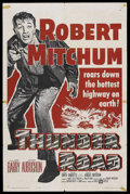 """Movie Posters:Crime, Thunder Road (United Artists, R-1964). One Sheet (27"""" X 41"""").Crime. ..."""