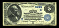 National Bank Notes:Pennsylvania, Carrolltown, PA - $5 1882 Value Back Fr. 574 The First NB Ch. #(E)5855. ...