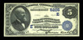 National Bank Notes:Pennsylvania, Pittsburgh, PA - $5 1882 Value Back Fr. 574 The Bank of PittsburghNA Ch. # (E)5225. ...