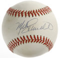 Autographs:Baseballs, Mike Schmidt Single Signed Baseball. On this ONL (Coleman) ballresides a perfect ink signature from a staple of the Philad...