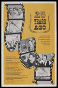 "Movie Posters:Documentary, 25 Years Ago (Universal, 1960). One Sheet (27"" X 41""). Documentary. ..."