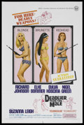 "Movie Posters:Bad Girl, Deadlier Than the Male (Universal, 1967). One Sheet (27"" X 41"").Bad Girl. ..."