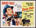 "Movie Posters:Crime, Dead End (United Artists, R-1954). Half Sheet (22"" X 28""). Crime...."