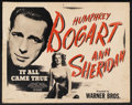 """Movie Posters:Crime, It All Came True (Warner Brothers, R-1940s). Half Sheet (22"""" X28""""). Crime. ..."""