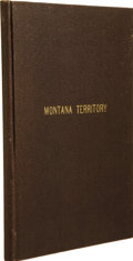 Books:Non-fiction, [MONTANA TERRITORY]. [Anonymous]. Reminiscences of the Son of Capt. Calvin C. Howes, with the Last Chapter being Extracts from...