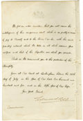 "Autographs:Non-American, King Edward VII Manuscript Document Signed ""Edward R &I"" as King, two pages, 8"" x 13"", front and verso. BuckinghamPala... (Total: 1 Item)"