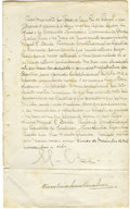 """Autographs:Non-American, King Manuel II of Portugal Manuscript Letter Signed """"El-Rei"""" in Portuguese, one page, 9.25"""" x 15"""". Paco dasNecessidade... (Total: 1 Item)"""