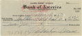 Movie/TV Memorabilia:Autographs and Signed Items, Marilyn Monroe Signed Check. A personal check for the sum of $2.17,dated November 15, 1950, and signed by Monroe in black i... (Total:1 Item)