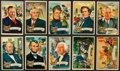 "Non-Sport Cards:Sets, 1952 Bowman and 1972 Topps ""U.S. Presidents"" Complete Set Pair (2). ..."
