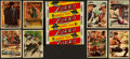 """Non-Sport Cards:Sets, 1958 Topps """"Zorro"""" High End Complete Set (88) Plus Wrapper. ..."""