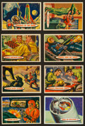 Non-Sport Cards:Sets, 1958 R714-20 Topps Space - Target: Moon Complete Set (88)....