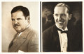 """Movie Posters:Comedy, Laurel and Hardy (MGM, 1927). Portrait Photos (2) (8"""" X 10"""").. ...(Total: 2 Items)"""