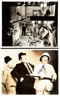 "Movie Posters:Comedy, Block-Heads (MGM, 1938). Photos (2) (8"" X 10"").. ... (Total: 2Items)"