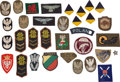 Militaria:Insignia, Poland: Group of Thirty-two Polish Army, Navy, and Air ForcePatches, Most are WWII or Earlier....