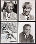 Olympic Collectibles:Autographs, Olympic Legends Signed and Unsigned Memorabilia Lot of 8....