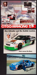 Miscellaneous Collectibles:General, Misc. Racing Signed Photographs Lot of 6....