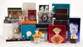 Glass, COLLECTION OF TWENTY-SIX MODERN LALIQUE PERFUMES . Comprising twenty-six Lalique par Lalique perfumes, including limited... (Total: 26 Items)
