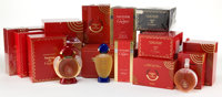 COLLECTION OF FIFTEEN CARTIER PERFUMES Including Panthere de Cartier and Muse de Cartier pe