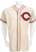 Baseball Collectibles:Uniforms, 1938-39 Bob Feller Game Worn Cleveland Indians Jersey....
