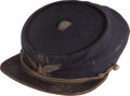 Military & Patriotic:Indian Wars, 1870's Pennsylvania Military Academy Kepi...