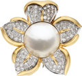 Estate Jewelry:Brooches - Pins, Multi-Stone, Diamond, Gold Clip-Brooch, Rothschild. ...