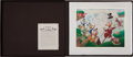 Original Comic Art:Miscellaneous, Carl Barks Return to Plain Awful Lithograph ProgressiveProof Boxed Set #PP1 (Another Rainbow/Disney, 1989)....