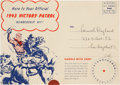 Golden Age (1938-1955):Western, Red Ryder Victory Patrol 1943 (Dell, 1943) Condition: VF....