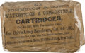 Military & Patriotic:Civil War, Unopened Packet of Combustible Cartridges for .44 Caliber Colt M1860 Army Revolver....