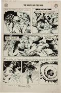 Original Comic Art:Panel Pages, Joe Kubert The Brave and The Bold #17 Viking Prince page 12Original Art (DC, 1958)....