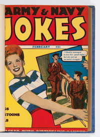 Army & Navy Jokes Bound Volume (Harvey, 1944-45)