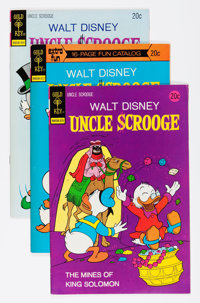 Uncle Scrooge File Copy Group (Gold Key, 1973-80) Condition: Average VF+.... (Total: 41 Comic Books)