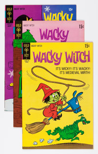 Wacky Witch #2 and 4-21 File Copy Group (Gold Key, 1970-73) Condition: Average VF+.... (Total: 19 Comic Books)
