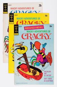Wacky Adventures of Cracky #1-12 File Copy Group (Gold Key, 1972-75) Condition: Average VF+.... (Total: 12 Comic Books)