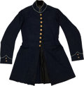 Militaria:Uniforms, Very Nice, Identified New York Sate Issue Infantry Enlisted Man's Frock Coat, C. 1861. ...