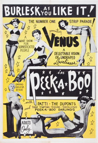 Peek-a-Boo Movie Poster (c. 1953)