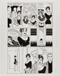 Gilbert Hernandez Luba in America Collection page 98 Original Art (Fantagraphics, 2002)